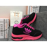Giày thể thao nữ đen hồng E252