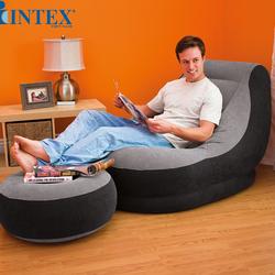 Ghế sofa hơi tựa lưng Intex tặng kèm bơm điện