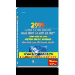 Sách: 2999 các hành vi Vi Phạm Hành Chính, hình thức và mức xử phạt...