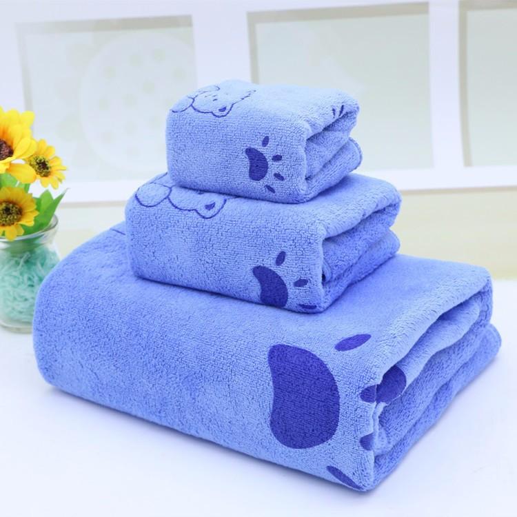 Bộ 3 khăn tắm ngộ nghĩnh cho mẹ và bé 4