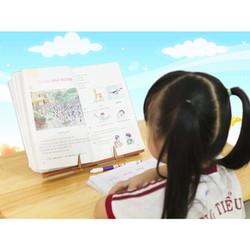 Kệ đọc sách gỗ KS 04 vân gỗ