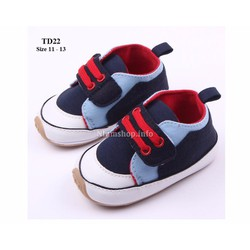 Giày tập đi cho bé trai 0 -18 tháng TD22