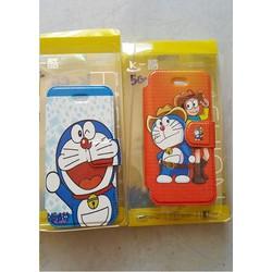 Bao da iphone 5,5s hình doremon siêu kute
