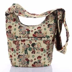 Túi đeo chéo thời trang thổ cẩm độc đáo Hoian Gifts