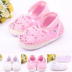 Giày tập đi cho bé gái 0-12 tháng G08