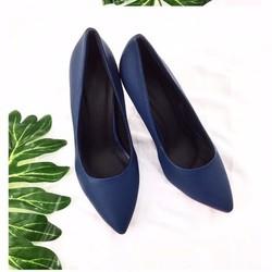giày cao gót bít mũi đơn giản