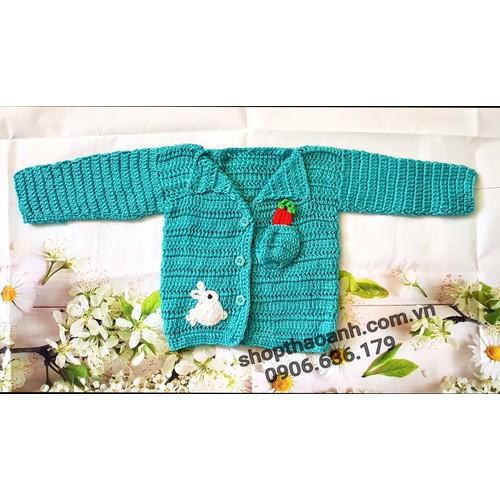 Áo len dài tay chất len size 1 tháng - 3 tháng tuổi