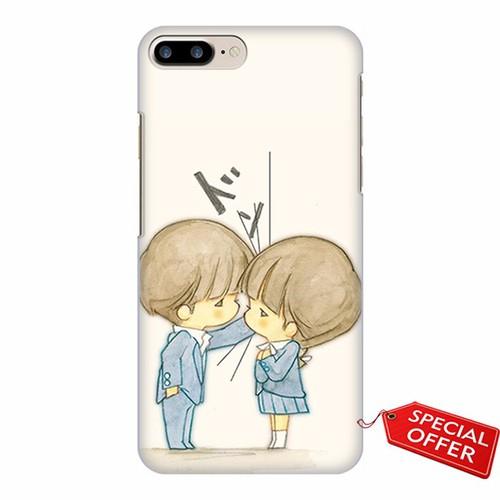 Ốp lưng Iphone 7 Plus_Chibi_Couple baby