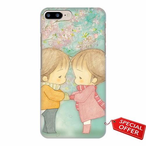 Ốp lưng nhựa dẻo Iphone 7 Plus_Chibi_Lovely