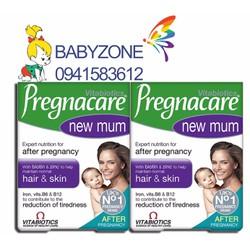 Vitamin Pregnacare New Mum Khôi phục Tóc và Da Cho Mẹ Sau Sinh