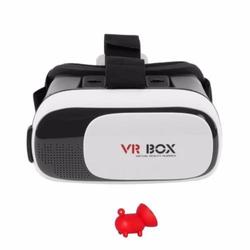 Kính VR Box phiên bản 2 Tặng giá đỡ điện thoại hình con heo
