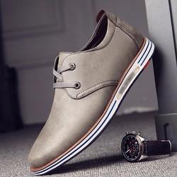 Giày da nam dáng thể thao đế siêu nhẹ - GD172