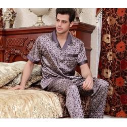 Bộ Pyjama nam chất lụa cao cấp NG057 giá 400k