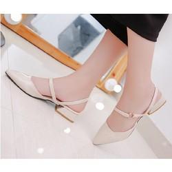 Giày búp bê 2 phong cách đế thấp