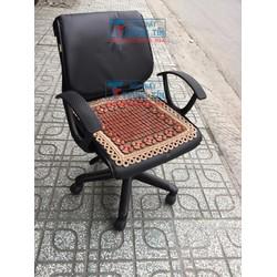 đệm lót ghế văn phòng màu nâu