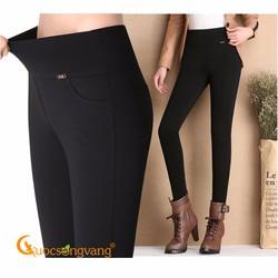 Quần nữ quần legging nữcotton co giãn 4 chiều GLQ047