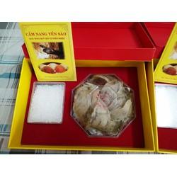 100g Yến Sào Nha Trang còn lông có đóng hộp quà