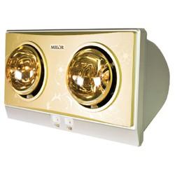 Đèn sưởi nhà tắm Navado 2 bóng vàng NAV8002