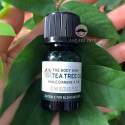 Tinh dầu trị mụn Tea Tree Oil The Body Shop 10ml