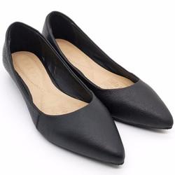 Giày Nữ | Giày Búp Bê mũi nhọn da thật