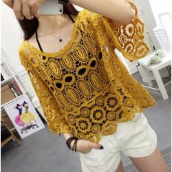 Set ren và áo dây kiểu Hàn Quốc - giá 360k-A80108