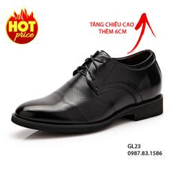 Giày Tăng Chiều Cao Nam - Da Cao Cấp, Mẫu Mới Nhất