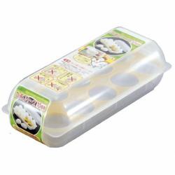 Khay đựng trứng 10 ngăn có nắp đậy Hàng Nhật