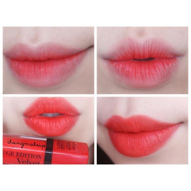Son Lì Dạng Nước Bourjois Rouge Edition Velvet 7