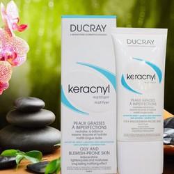 Kem dưỡng chống bóng nhờn dành cho da nhờn Ducray Keracnyl Matifyer