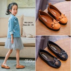Giày bé gái búp bê dễ thương 3 - 10 tuổi GA14