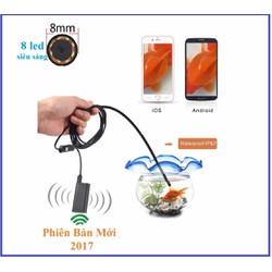 Phụ kiện công nghệ - Camera nội soi phát wifi dài 5m