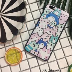 Ốp lưng Iphone 6 plus nhiều mèo