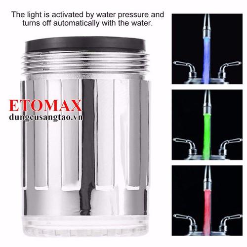 Vòi nước phát sáng cảm biến theo nhiệt độ