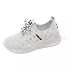 Giày chữ M trắng