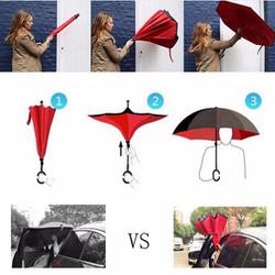 Ô gấp ngược thông minh sản phẩm ưu việt cho ngày mưa