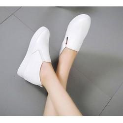 Giày tăng chiều cao nữ - Giày slip on độn đế - GĐ30