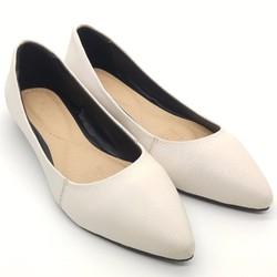 Giày Nữ | Giày Búp Bê da mũi nhọn