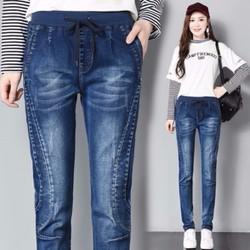 Quần jean nữ cho người mập size XL-5XL  - Q1138