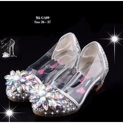 Giày cao gót trẻ em gái 3 - 12 tuổi GA09