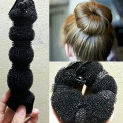 Búi tóc củ tỏi donut
