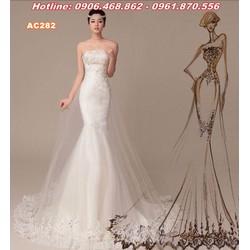 váy cưới đuôi cá quyến rũ AC282
