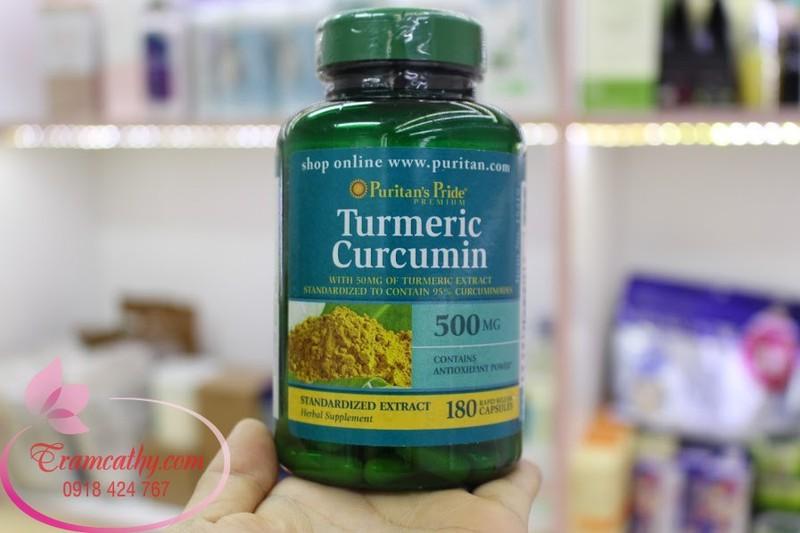 Viên uống tinh chất nghệ    Turmeric Curcumin Puritan sPride 1