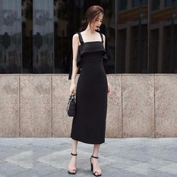 Đầm body màu đen quyến rũ -  thiết kế sang trọng