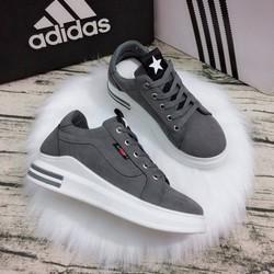giày bata nữ vans đế sọc