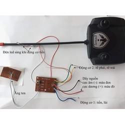 Điều khiển từ xa 4 kênh - 4-6V -49Mhz