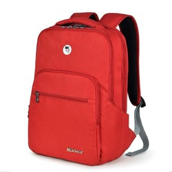 Balo laptop Mikkor The Maddox Backpack D.Red