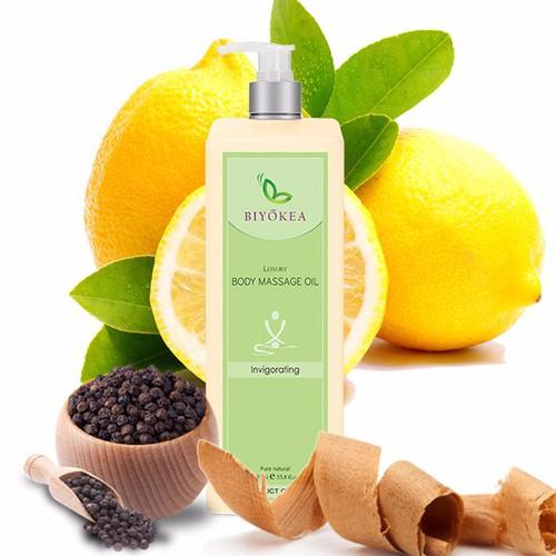 Dầu Massage Body Luxury - Invigorating Oil - Tăng cường sức đề kháng
