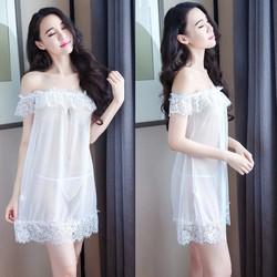 Váy Ngủ Trễ Vai Thiên Thần Gợi Cảm CDAN61