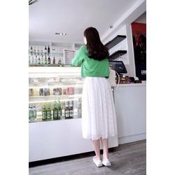 Chân váy maxi ren cực xinh