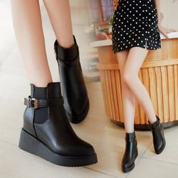 Giày boot da cao cấp B084